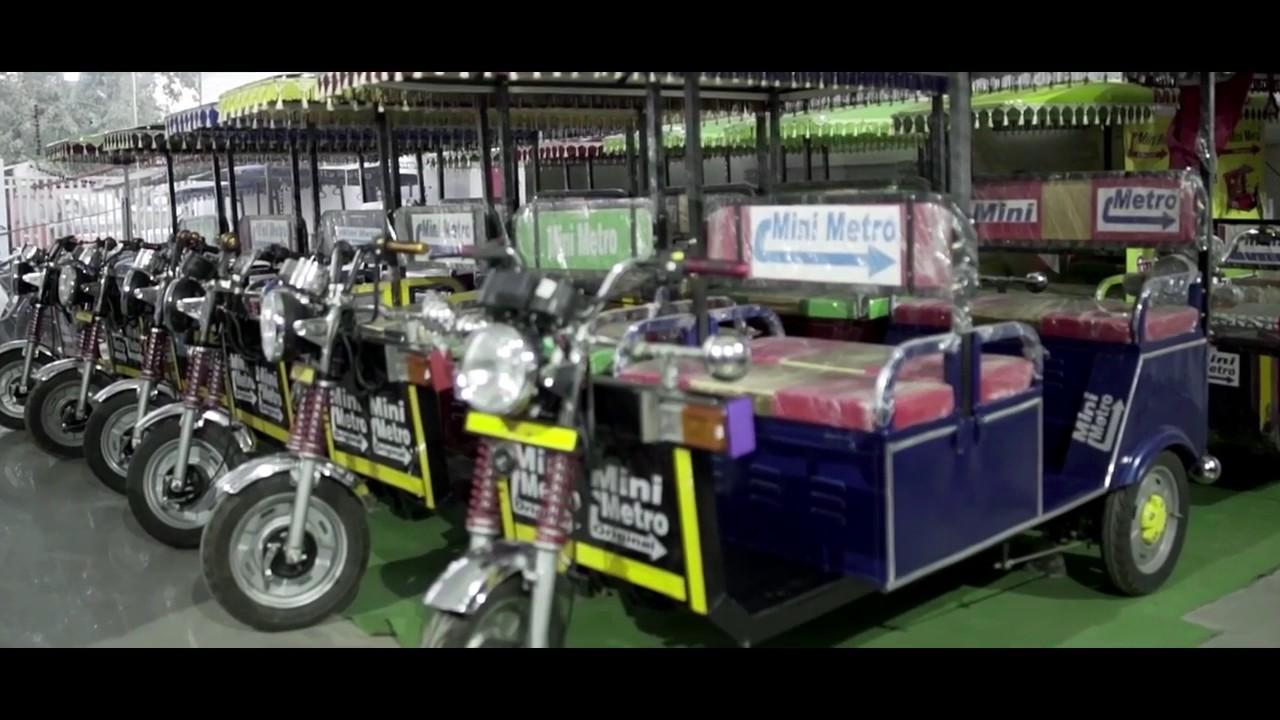Battery Operated Electric Rickshaw By Mini Metro Ev Llp Meerut