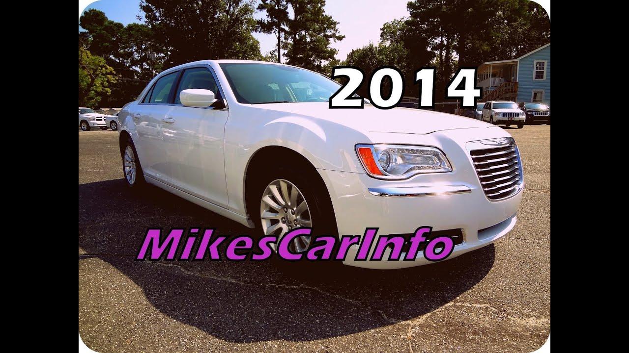 Chrysler 300 Mpg >> 31 Mpg 2014 Chrysler 300 3 6l V6 8 Speed Trans Youtube