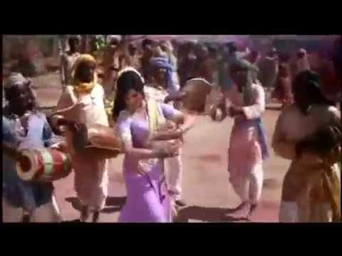 Holi Ke Din Dil Khil Jaate Hai   Kishore Kumar & Lata   Sholay 1975   YouTube