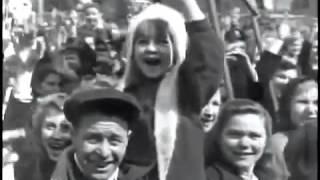 1 мая, 1950, Москва, Красная пл. на трибуне  узнаваемые лица - Сталин, Берия, Молотов, Буденный