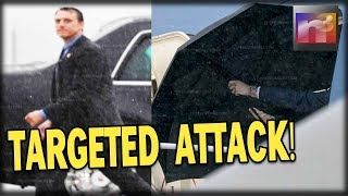 BREAKING: Trump Suffers Targeted Attack – They Found It In His UMBRELLA!