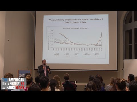Economist Mark Blyth and the future of the Eurozone (with slides)