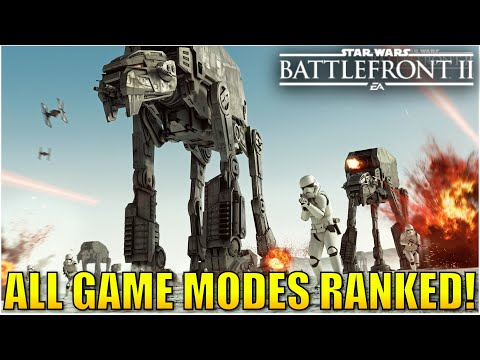 Every Game Mode Ranked from Worst to Best! - Star Wars Battlefront 2 |