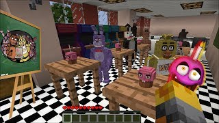 - Minecraft FNAF SCHOOL MOD PLAY WITH THE FNAF KIDS AND TEACH THEM LETTERS Minecraft