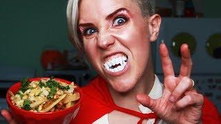 My Drunk Kitchen: Vampire Garlic Fries!