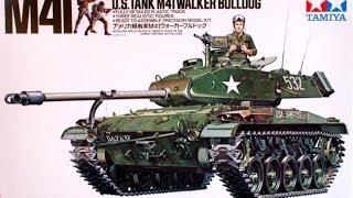 In-box Review: Tamiya M41 Walker Bulldog