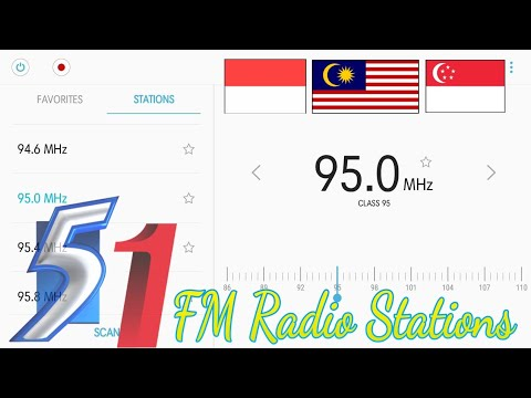 Indonesia / Singapore / Malaysia - [ 51 ] FM Radio Stations