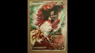 Lugia and Ho-Oh Legend, Secret Rare Alph Lithograph
