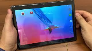 Мини обзор распаковка планшета MiXzo MX1041 4G + Чехол крышка, Экран стекло 2,5D