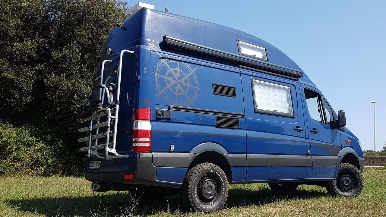 Mercedes Sprinter 4x4 Camper >> 04 Mercedes Sprinter 4x4 Van Conversion Camper Final Result Youtube