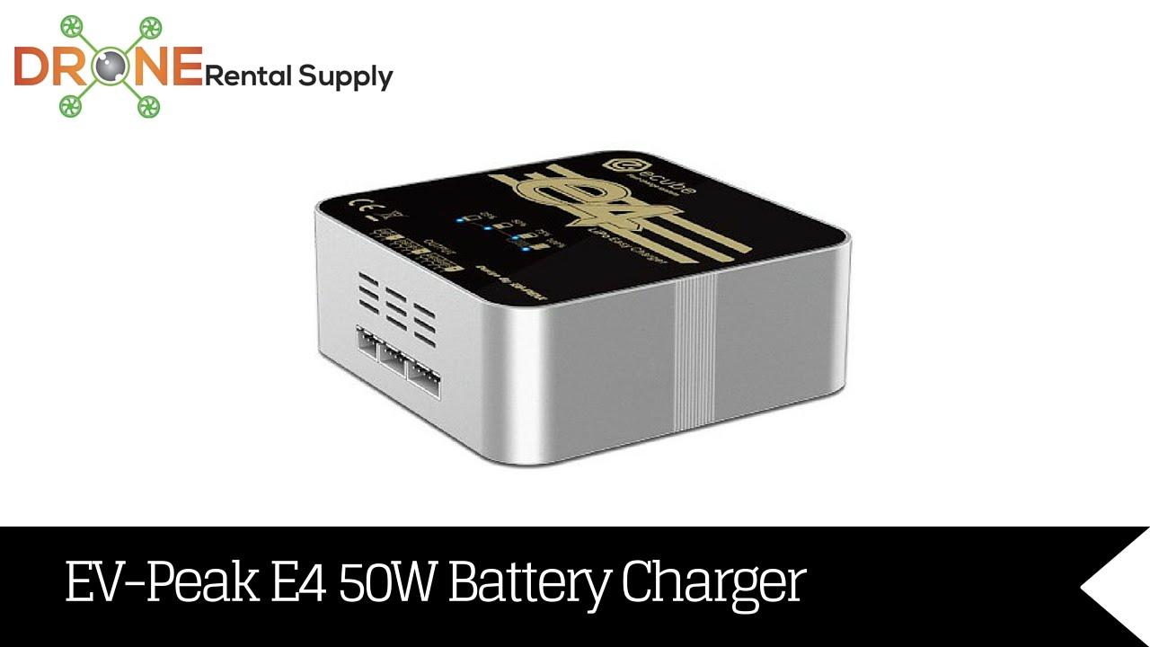 Ev Peak E4 50 Watt 4 Amp Lipo Battery Balance Charger Youtube Balancer Seven Segments
