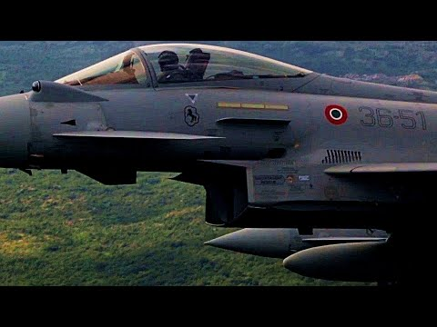 NATO footage: Italian and Greek FIGHTER JETS have begun AIR PATROLS over Montenegro!