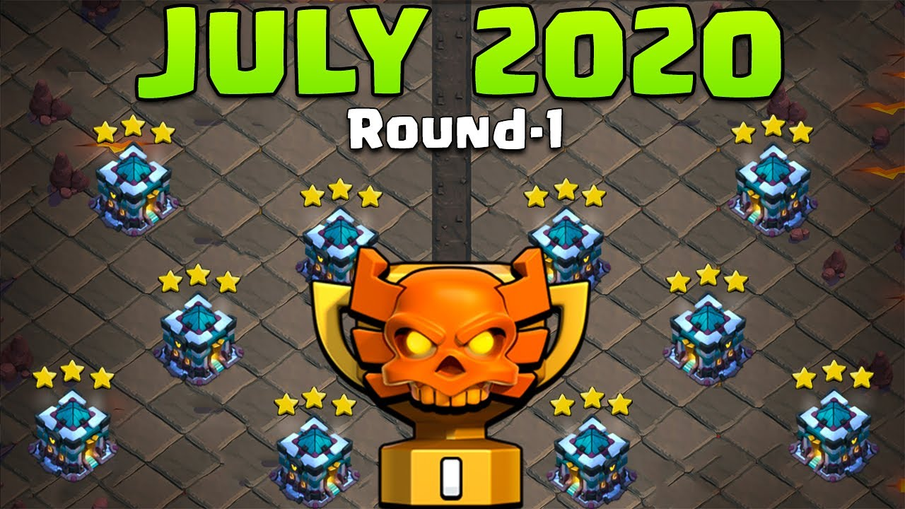 CWL 2020 | Town Hall 13 New CWL Attack For July 2020 | CWL Th13 3star Attack | Clash of Clans