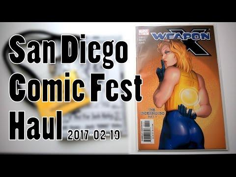 San Diego Comic Fest 2017 Haul