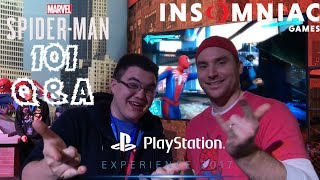 Spider-Man PS4: 101 - Marvel's Spider-Man Q&A w/ Bryan Intihar at PSX 2017!!!