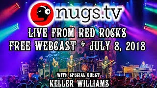 Dark Star Orchestra and Keller Williams:  Live at Red Rocks 7/8/2018