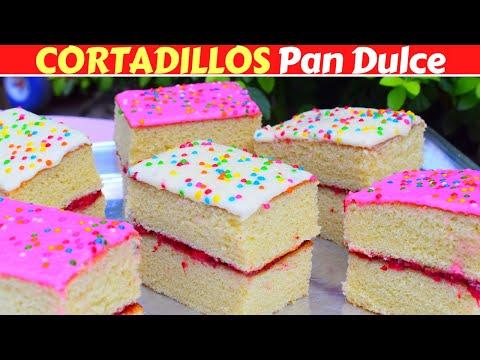 Pan CORTADILLO Muy ESPONJOSO!(PAN DULCE MEXICANO) Dulce Hogar Recetas