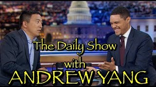 Andrew Yang on the Daily Show
