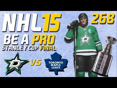 NHL 15 [Be A Pro] #268 - Dallas Stars - Toronto Maple Leafs (Stanley Cup Final Spiel 2)
