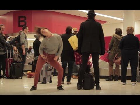 Dance Like Nobody's Watching: Airport  HelloGiggles
