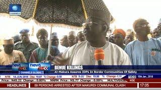 Benue Killings: Al-Makura Assures IDPs In Border Communities Of Safety