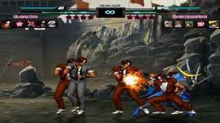 MUGEN - Clone Team vs. Basara Team