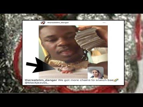 BLACK JEZUSS & CHIEF KEEF Baby Mama SLIM DANGER Take Credit For 6IX9INE'Jewellery Taken??