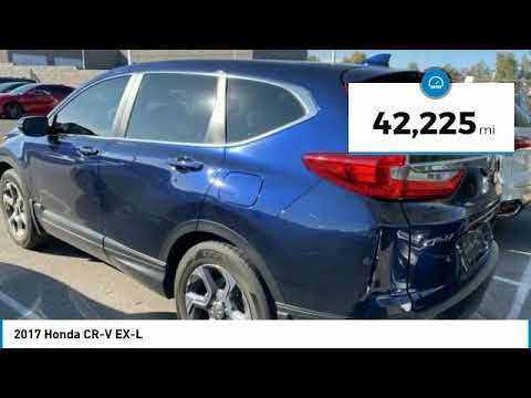 2017 Honda CR-V 2017 Honda CR-V EX-L FOR SALE in Las Vegas, CA P2259A
