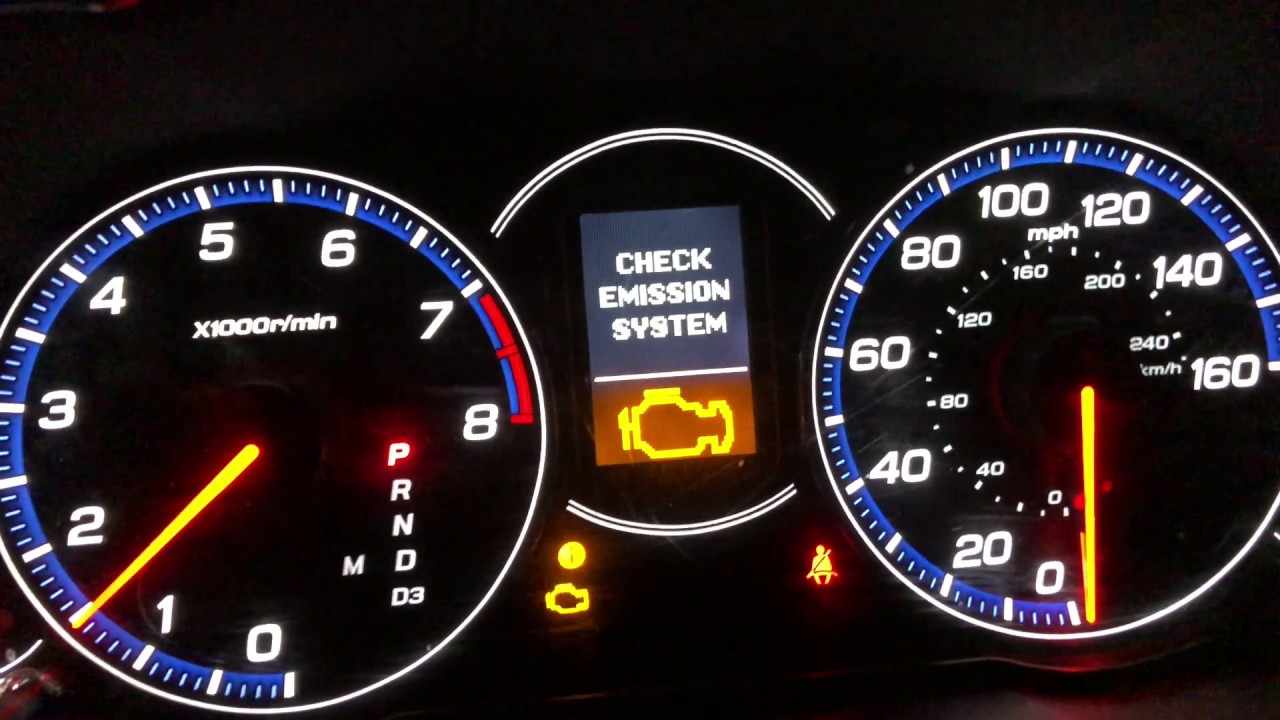 2006 Acura Tsx Check Engine Light Rough Idle Youtube