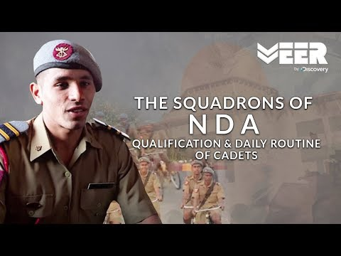 NDA's Qualification Process & Cadets Daily Routine | Squadrons Of NDA | Veer By Discovery