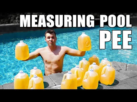 Thumbnail: How to measure HOW MUCH PEE IS IN YOUR POOL