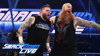 Kevin Owens vs. Rowan: SmackDown LIVE, March 5, 2019