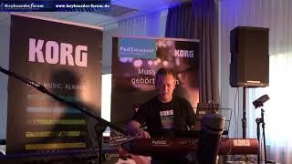 """""""Korg PA1000"""" Präsentation zum Musikertreffen 2018 in Erfurt mit Jürgen Sartorius"""