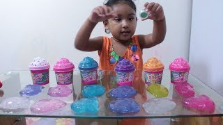 Learn Colors with Slime by Rufi Ishfi pretend play