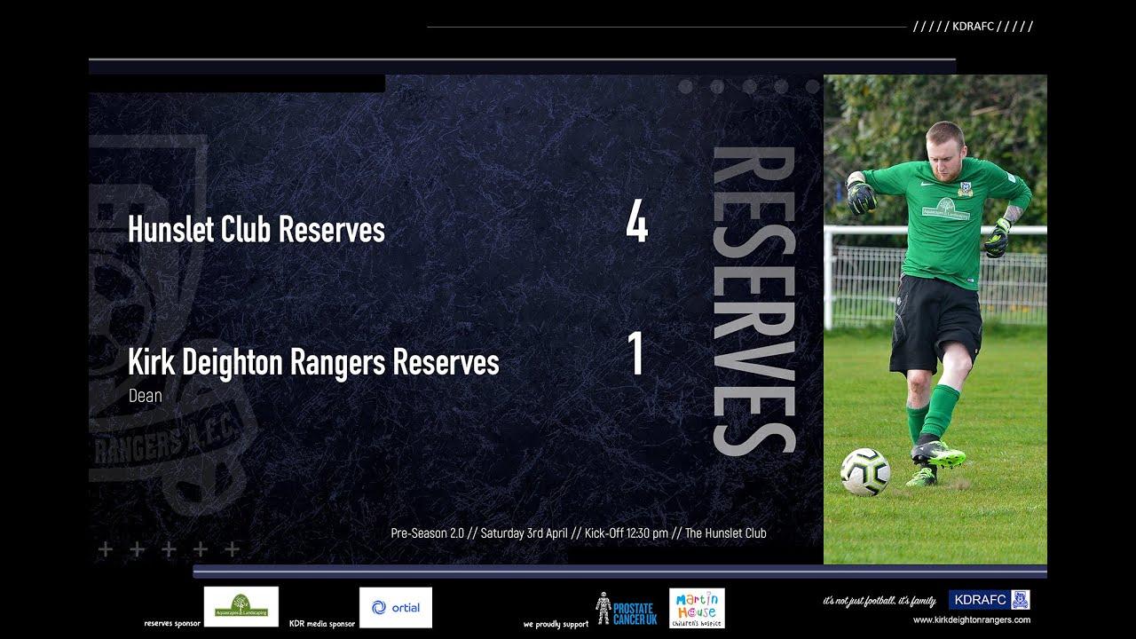 Hunslet Club Reserves Match Highlights