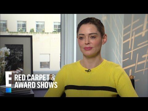 Rose McGowan Talks Golden Globes PR Stunt Comment | E! Live from the Red Carpet