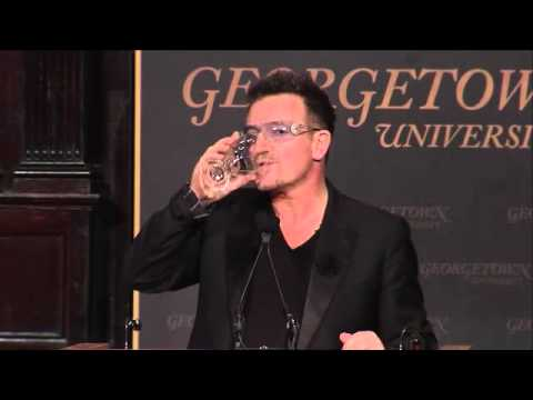 U2News - Bono at Georgetown University - Part 4