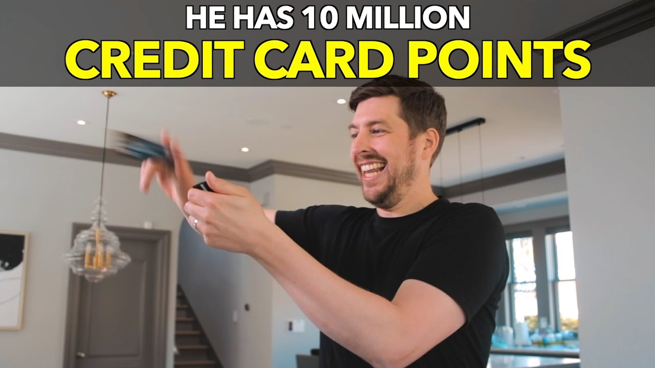 He Has 10 Million Credit Card Points