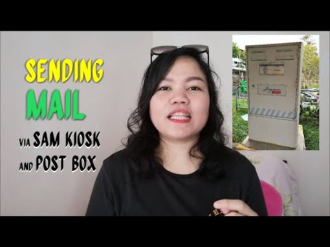 How To Send Mail In Singapore Using SAM Kiosk And Post Box