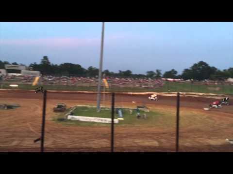 Southern United Sprints at Gator Motorplex 7/4/15 Heat Race #2