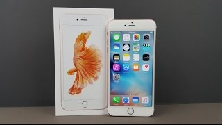Apple iPhone 6S Plus Rose Gold Unboxing & Firstlook