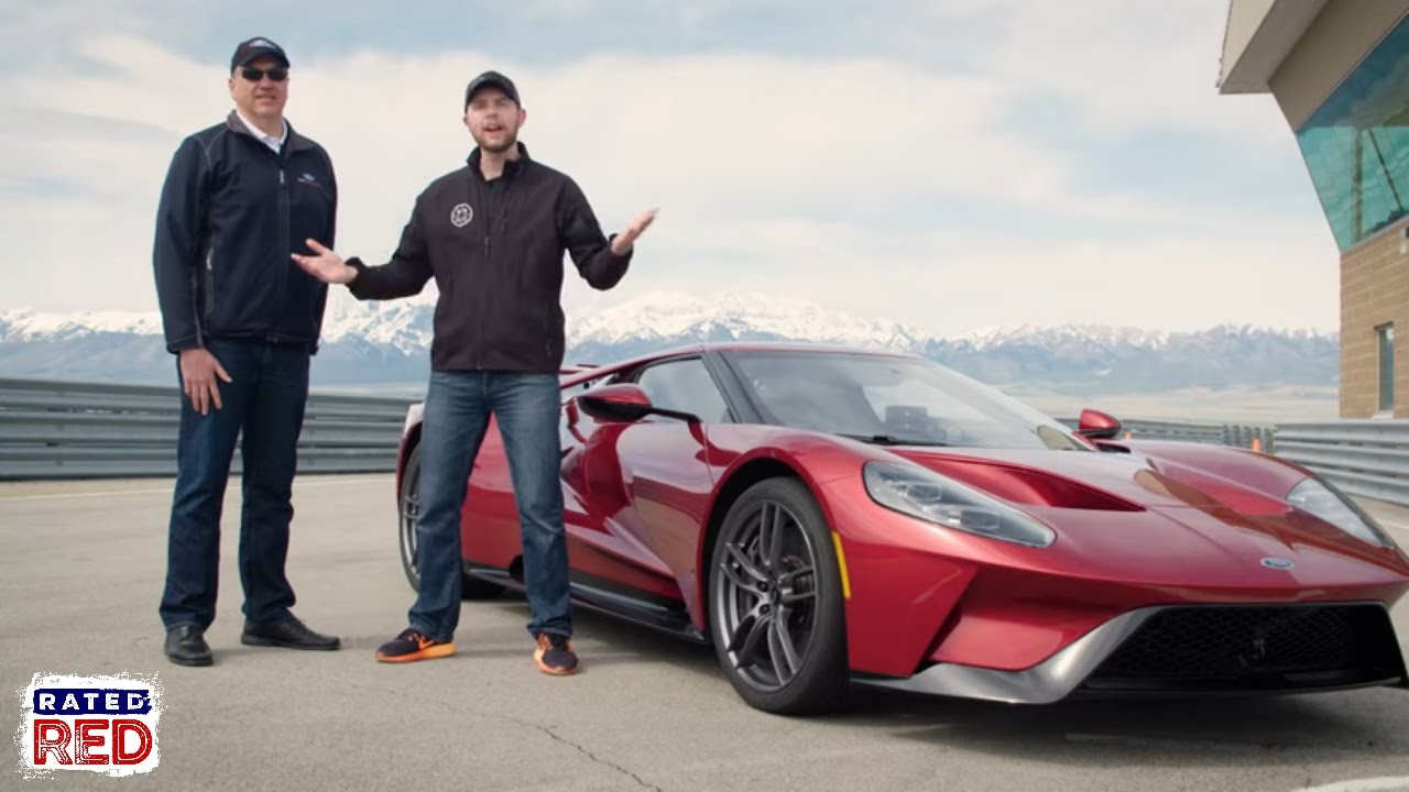 We Test Drive The  Ford Gt