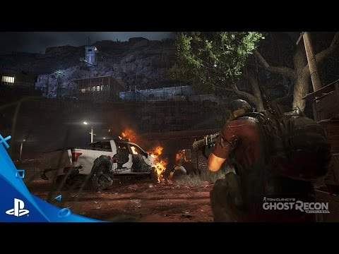 Tom Clancy's Ghost Recon Wildlands - Stealth Takedown Mission Gameplay Video   PS4