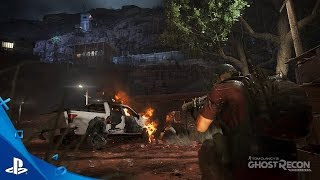 tom clancy s ghost recon wildlands stealth takedown mission gameplay video   ps4