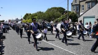 12 july parade Annalong co Down Northern Ireland full parade