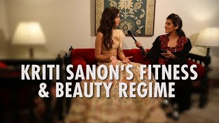 Kriti Sanon Reveals Her Fitness & Beauty Secrets | Ambika Anand | India Couture Week 2019