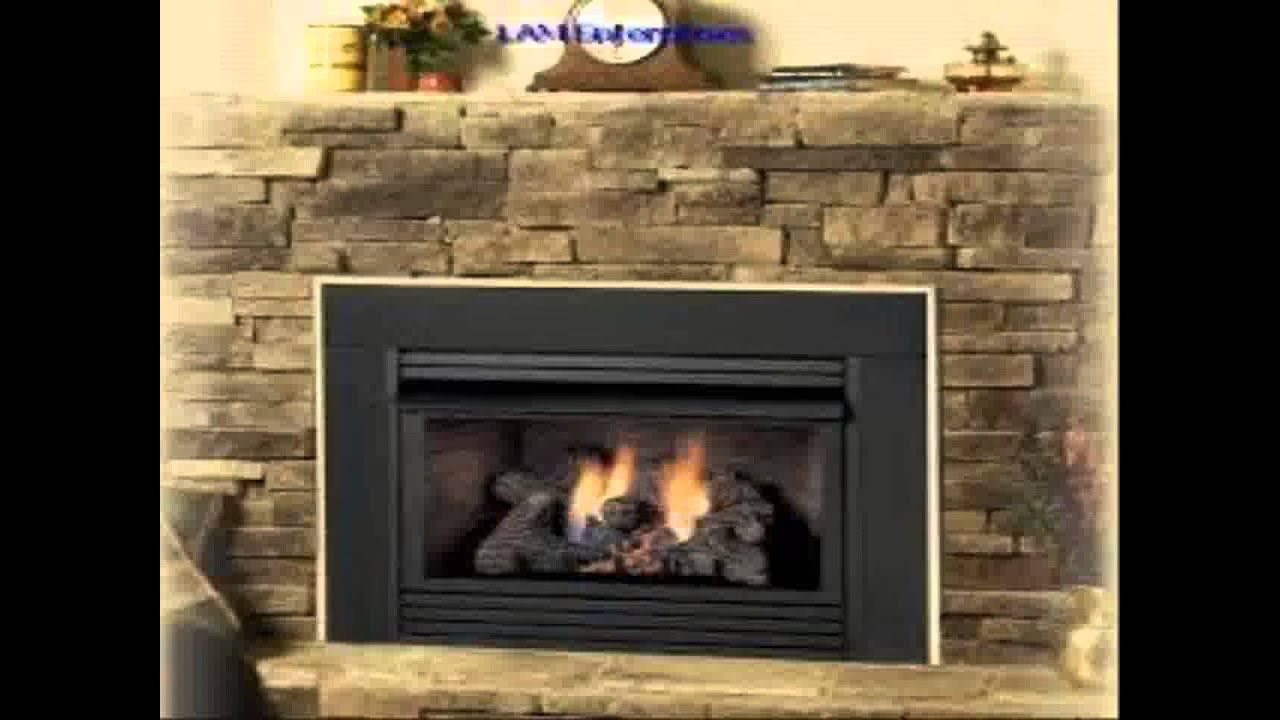 fireplace gas insert youtube
