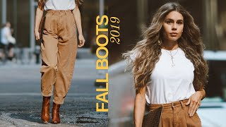 FALL BOOT ESSENTIALS 2019