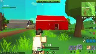 Выживание на острове Роял Один в поле воин Игры онлайн Island Royale survival Roblox
