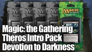 MtG - Devotion to Darkness Intro Pack Opening